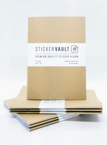Kraft StickerVault Album