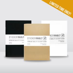3-Color StickerVault Bundle