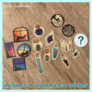 Clear Sticker Super Pack