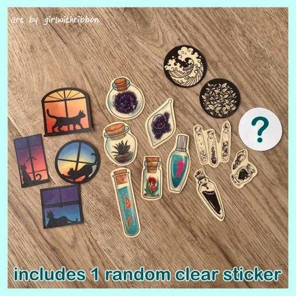Clear Sticker Super Pack