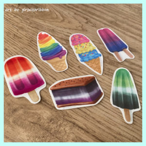 Pride Ice Cream (Set of 6)