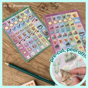 Planner Stickers - Study