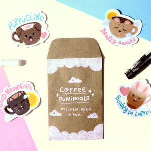 Coffee Punimals (Set of 4)