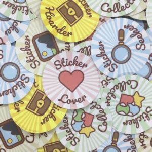 Sticker Society (Set of 5)