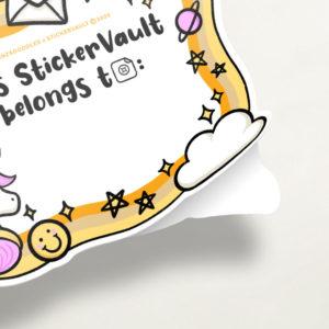 StickerVault Labels: Magic