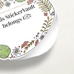 StickerVault Labels: Plants