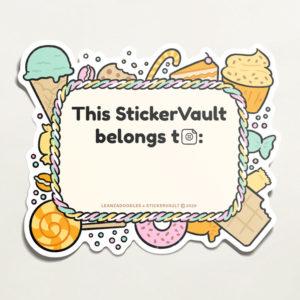 StickerVault Labels: Sweets